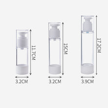 Load image into Gallery viewer, Professional New Portable Transparent Travel Cosmetic Bottle