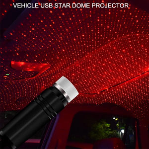 Plug and Play Car and Home Ceiling Romantic USB Night Light