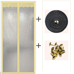 Cold-Proof Partition Magnetic Curtain