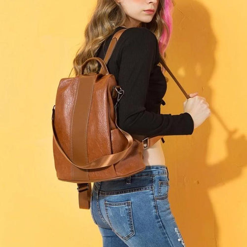 Premium Leather Three Way Anti-Thief Women's Bags