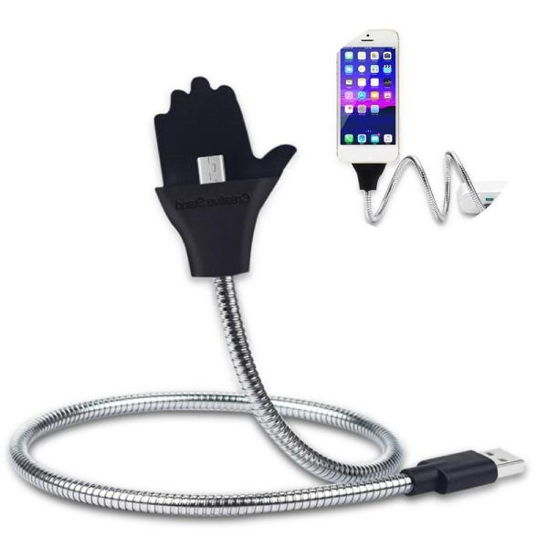 2 in 1 Lazy Stand Up Charging Cable