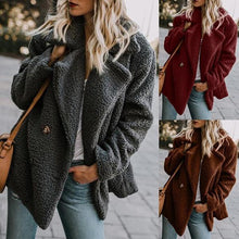 Load image into Gallery viewer, Buttoned Casual Quilted Coat