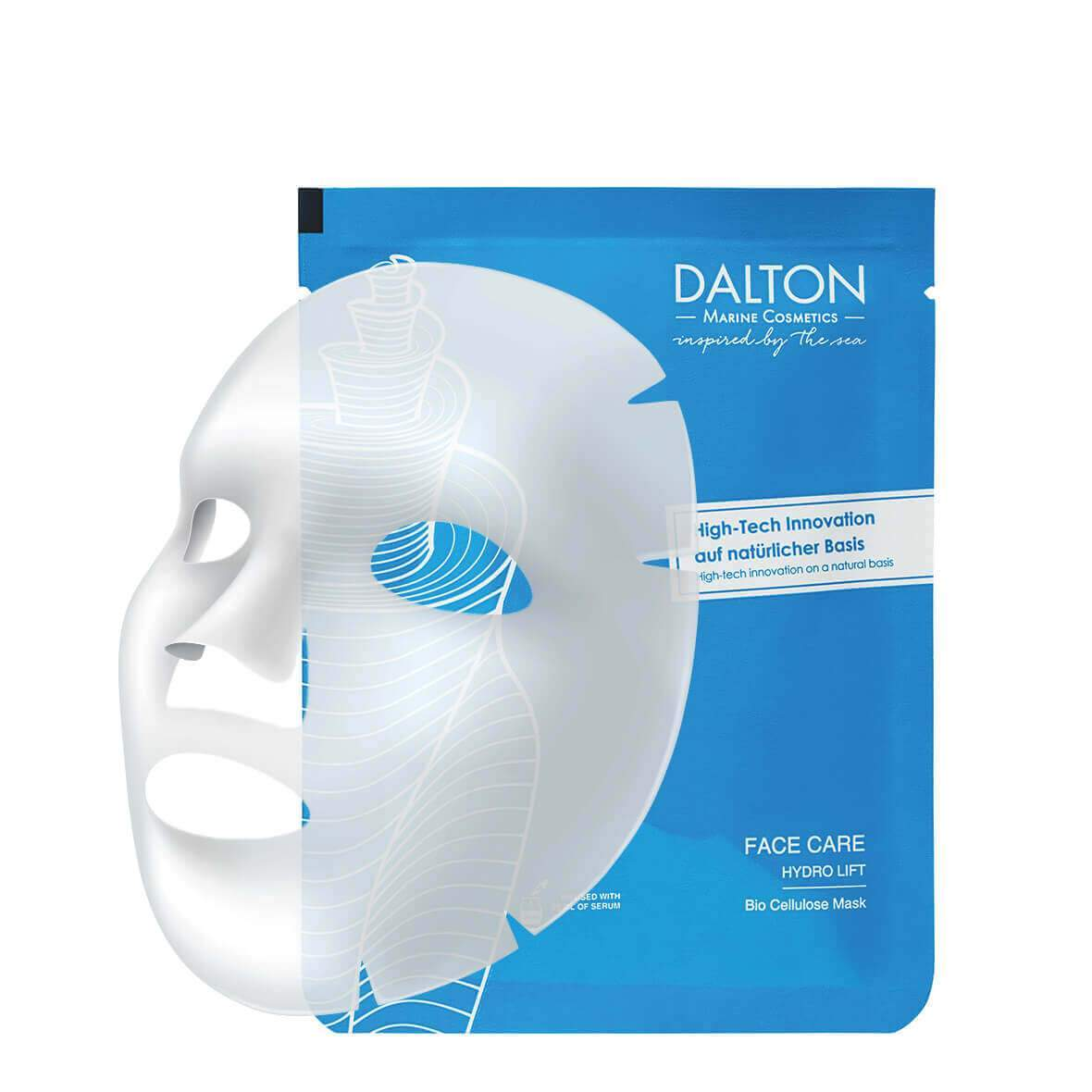 Mască, Face Care Bio Cellulose Mask 1plic. 20 ml., Dalton Marine Cosmetics, Era Cosmetics