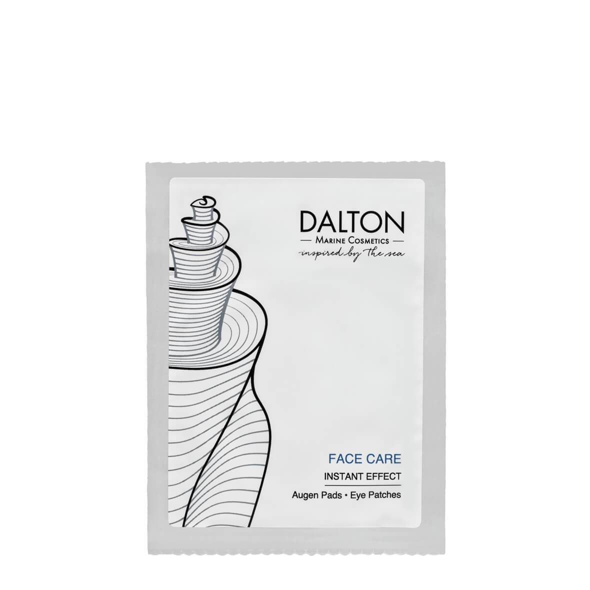 Mască, Face Care Eye Patches 1 plic. x 2 plasturi, Dalton Marine Cosmetics, Era Cosmetics