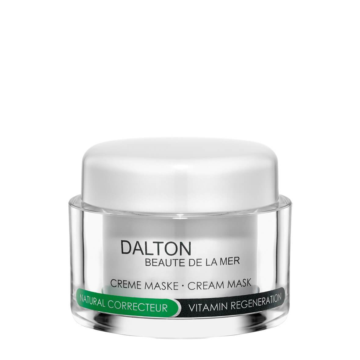 Mască, Natural Correcteur Cream Mask 50ml., Dalton Marine Cosmetics, Era Cosmetics