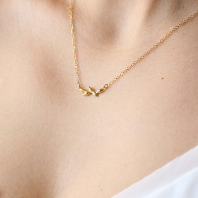 Artemis Necklace in Gold