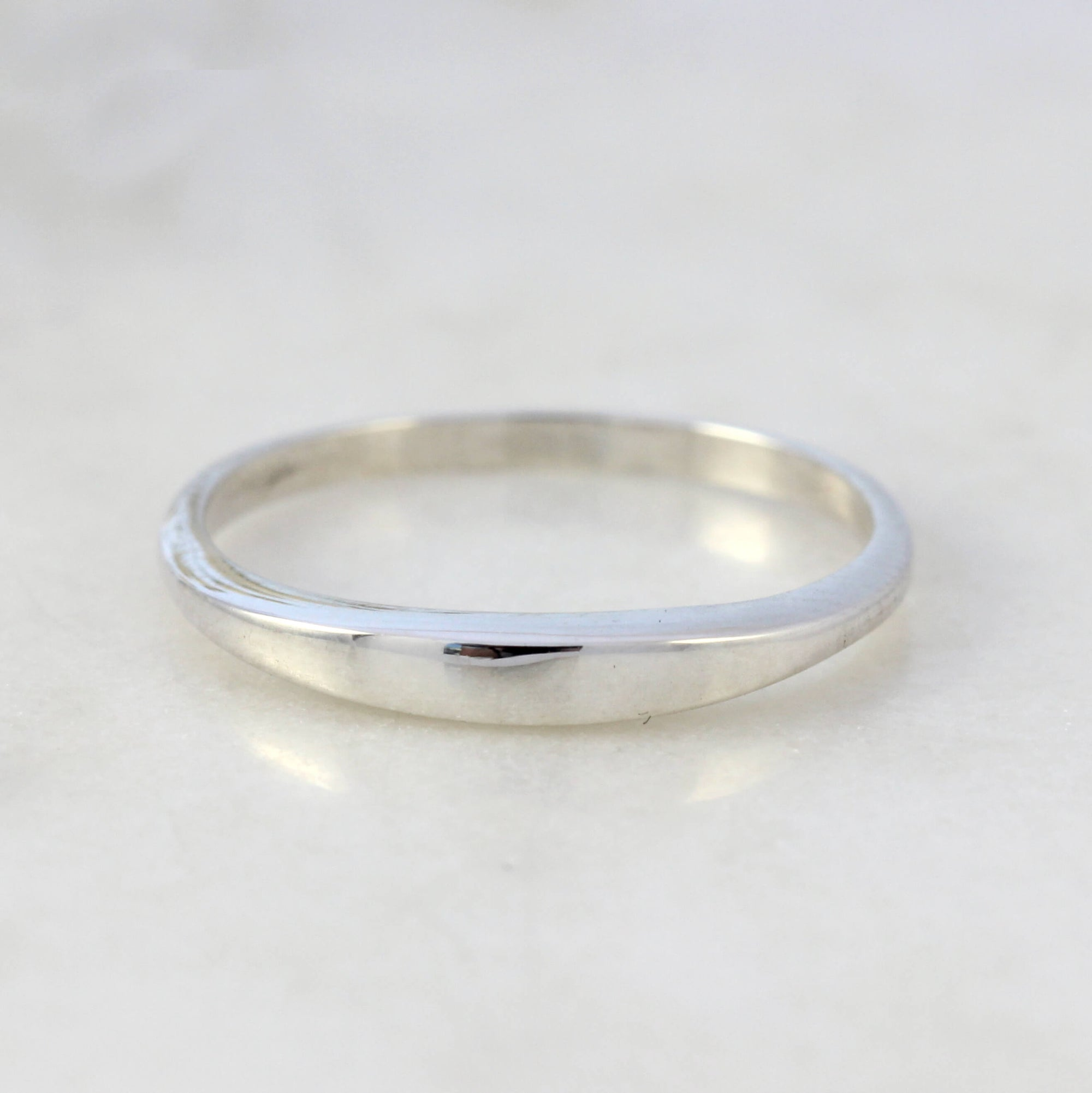 Slim Signet Ring