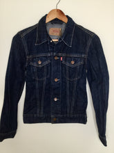 Load image into Gallery viewer, Vintage Levi's dark denim jacket