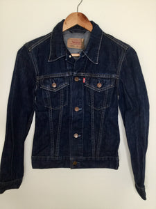 Vintage Levi's dark denim jacket