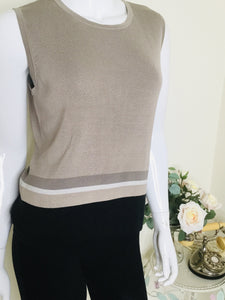 Vintage tank top and cardigan twinset