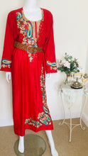 Load image into Gallery viewer, Boho style kaftan