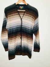 Load image into Gallery viewer, Vintage stripey mohair cardigan