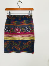 Load image into Gallery viewer, Vintage Floral and Paisley Print Skirt