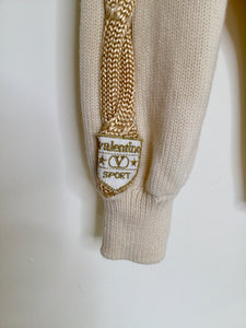 Vintage Valentino Sport Roll Neck Sweater