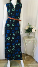 Load image into Gallery viewer, 90s vintage floral maxi dress