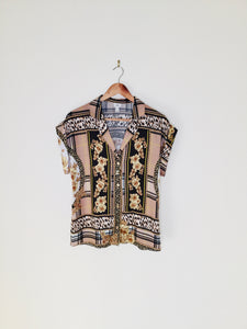 Baroque Style Blouse