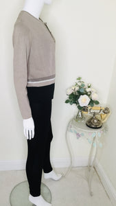 Vintage twinset in neutral colour palette