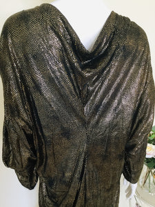 Vintage batwing party dress