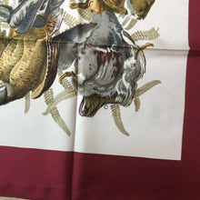 Load image into Gallery viewer, Rare Vintage Hermès Silk Scarf