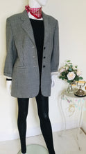 Load image into Gallery viewer, Vintage houndstooth wool jacket