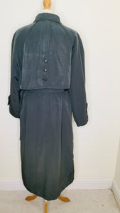 Vintage Green Trench Coat by Dannimac