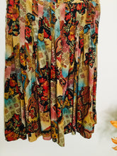 Load image into Gallery viewer, Vintage mixed print multicoloured skirt