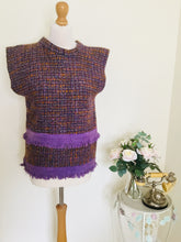 Load image into Gallery viewer, vintage Chanel style wool top