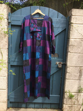 Load image into Gallery viewer, Vintage patchwork print kaftan