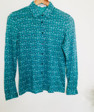 Load image into Gallery viewer, Vintage Jaeger teal blouse