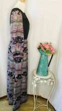 Load image into Gallery viewer, 70s Floral Folk Print Maxi Dress
