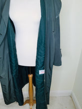 Load image into Gallery viewer, Vintage Green Trench Coat by Dannimac