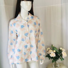 Load image into Gallery viewer, Vintage floral print blouse