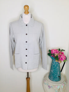 Vintage cotton travel jacket with collar
