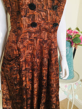 Load image into Gallery viewer, Vintage dress with pockets