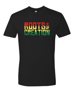 MEN'S T-SHIRT: Rasta Fade Logo