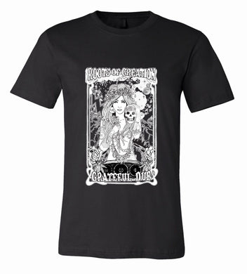 T-SHIRT: Grateful Dub (white print on black)