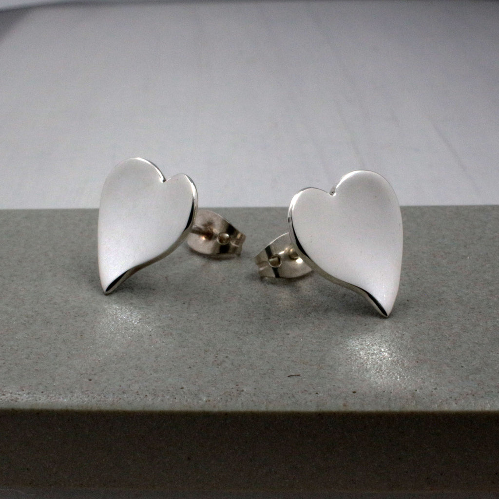 Sterling Silver Earrings | Stud Silver Earrings