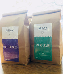Switchboard and Measured Coffee Blends from RELAY Coffee Roasters