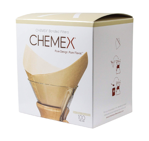 CHEMEX Natural Filters - Pre-folded