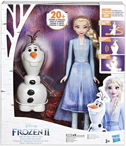Disney Frozen 2 Talk & Glow Olaf & Elsa