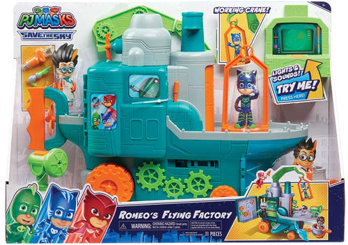 PJ Masks Romeos Flying Factory Playset