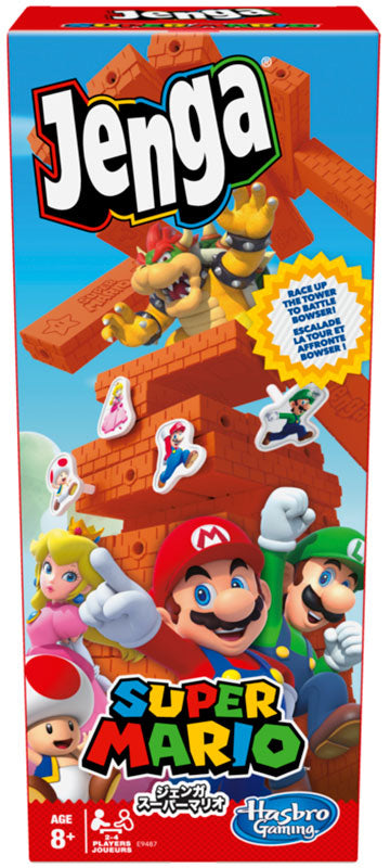 Hasbro Super Mario Jenga Game
