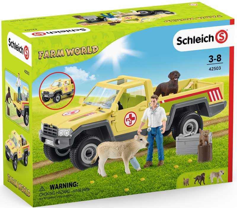 Schleich Veterinarian Visit at the Farm