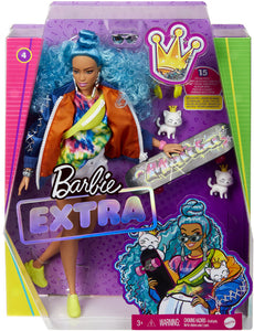 Barbie Extra Blue Hair Doll