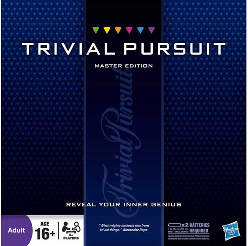Hasbro Trivial Master Edition Game