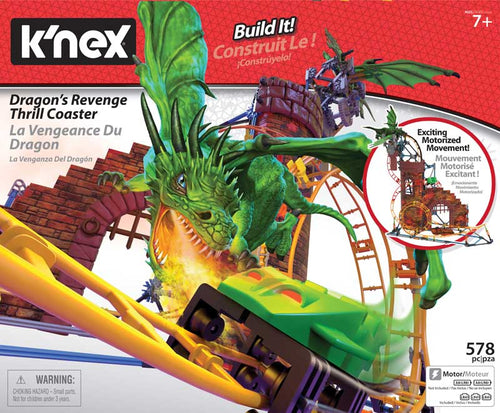 K'nex Tabletop Dragon Revenge Coaster