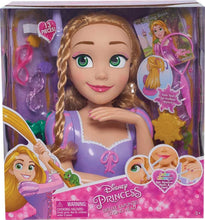 Load image into Gallery viewer, Disney Princess Rapunzel Deluxe Styling Head