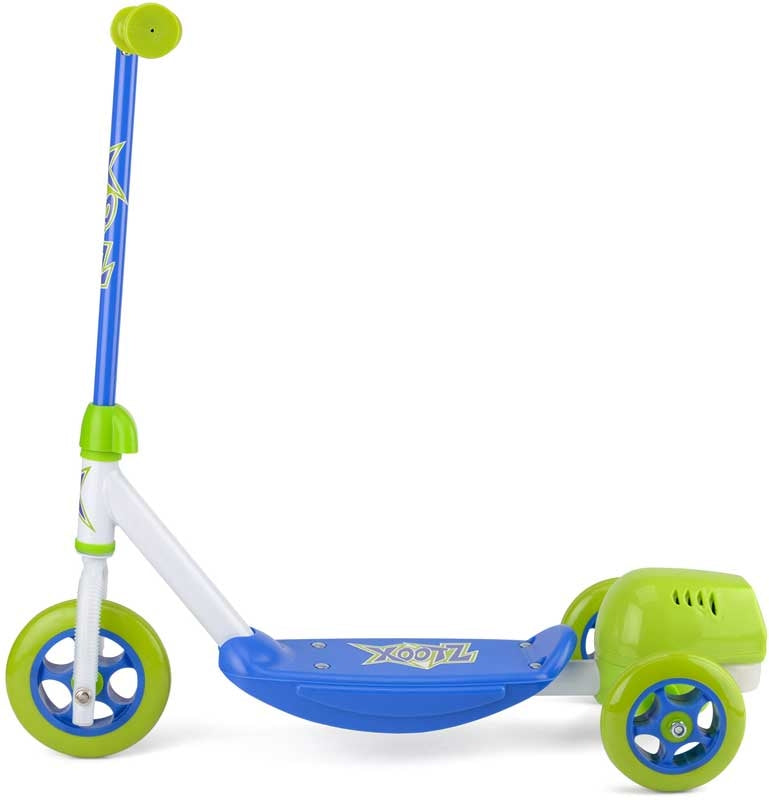 Xootz Bubble Scooter Blue-Green