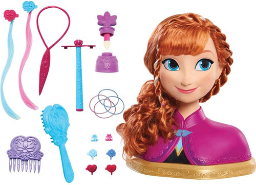 Disney Anna Frozen Deluxe styling head