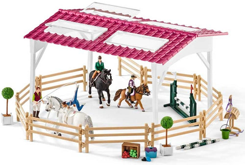 Schleich Riding School with Riders & Horses